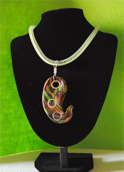 Collana in polymer clay